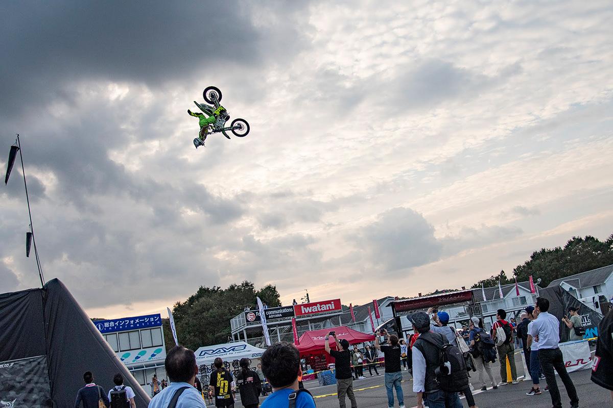 fmx freestylemotocross フリースタイルモトクロス fmxshowcase fmxshowcaseentertainment 鈴木大助 suzuki daisuke daice ダイス MOTOR GAMES MOTOR GAMES2018 モーターゲームズ モーターゲームス 岡山国際サーキット Okayama International Circuit