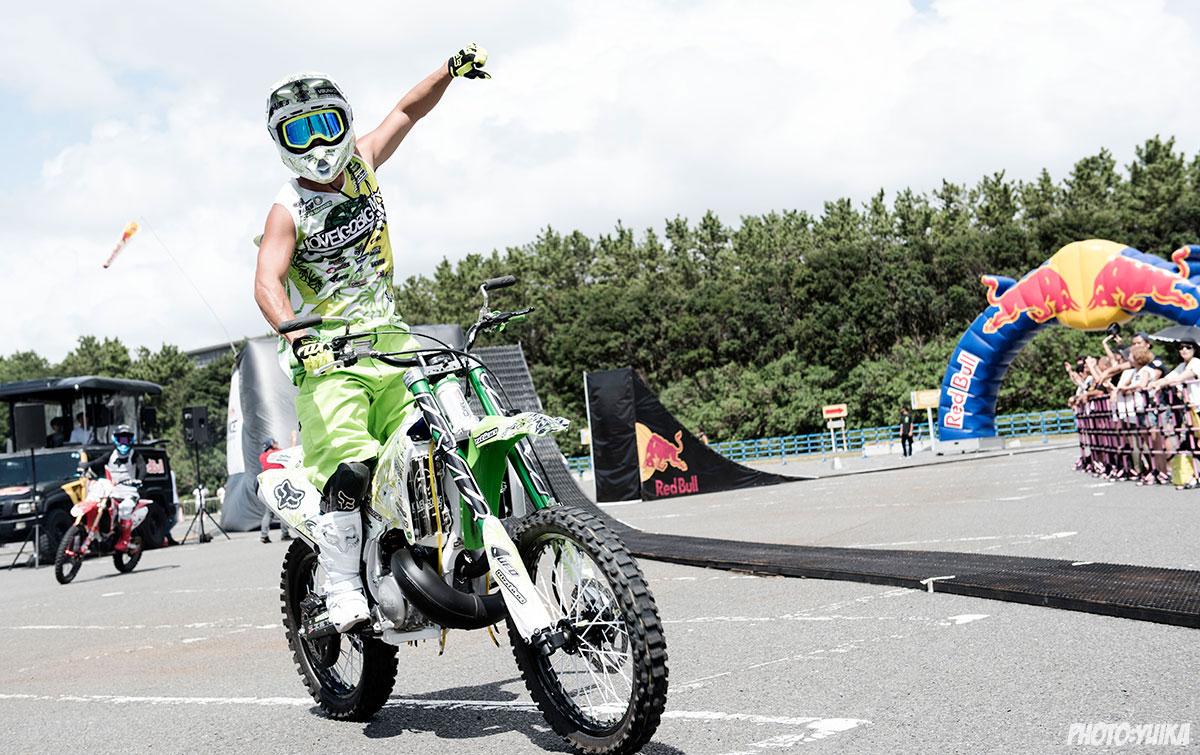 fmx freestylemotocross フリースタイルモトクロス Red Bull Air Race Chiba 2019 レッドブル エアレース 千葉 鈴木大助 DAICE ダイス FMXSHOWCASEentertainment FMXショーケース